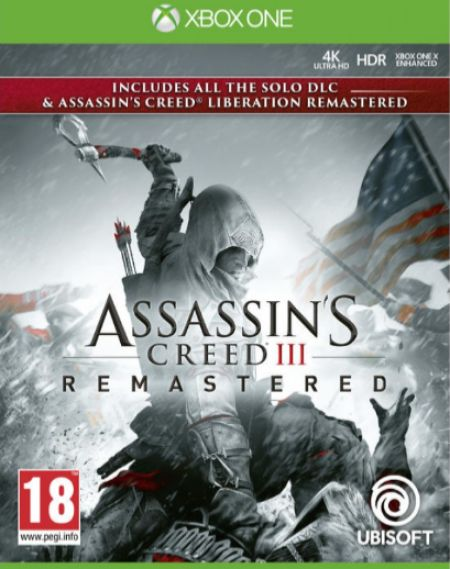 Echanger le jeu Assassin's Creed III - Remastered sur Xbox One