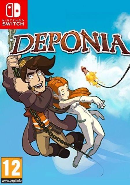 Echanger le jeu Deponia sur Switch