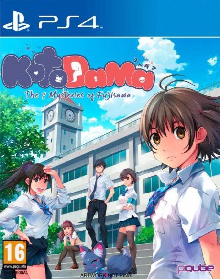Echanger le jeu Kotodama : The 7 Mysteries Of Fujisawa  sur PS4