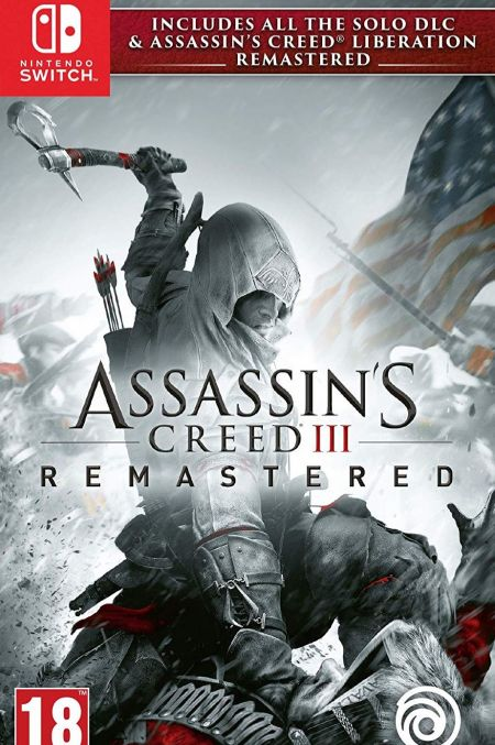 Echanger le jeu Assassin's Creed III - Remastered sur Switch