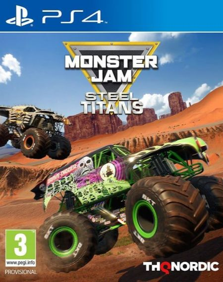 Echanger le jeu Monster Jam Steel TITANS sur PS4