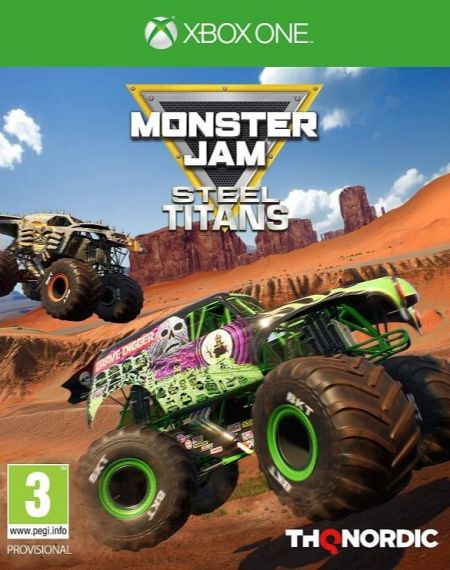 Echanger le jeu Monster Jam Steel TITANS sur Xbox One