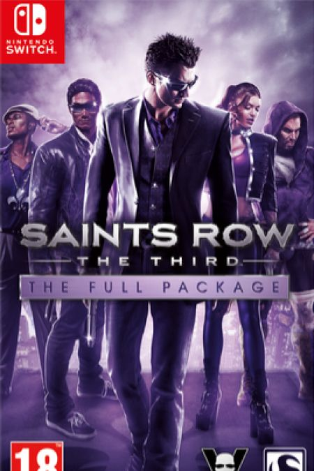 Echanger le jeu Saints Row The Third - The Full Package sur Switch