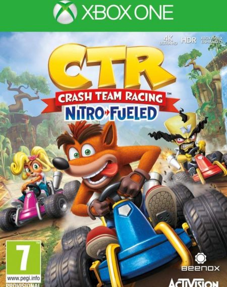 Echanger le jeu Crash Team Racing Nitro Fueled  sur Xbox One
