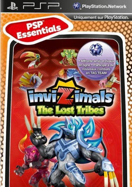 Echanger le jeu Invizimals: The Lost Tribes (Camera PSP Requise) sur PSP