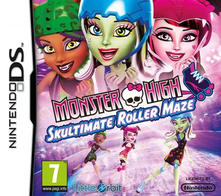 Echanger le jeu Monster High : Skultimate Roller Maze sur Ds