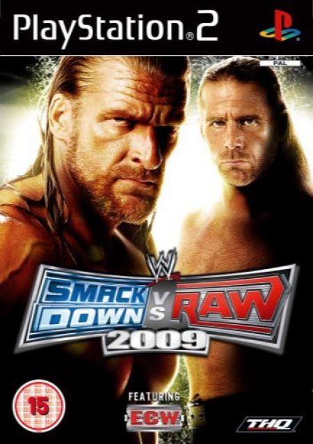 Echanger le jeu WWE SmackDown VS Raw 2009 sur PS2