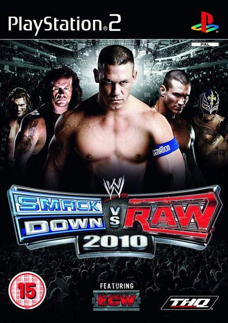 Echanger le jeu WWE Smackdown VS Raw 2010 sur PS2