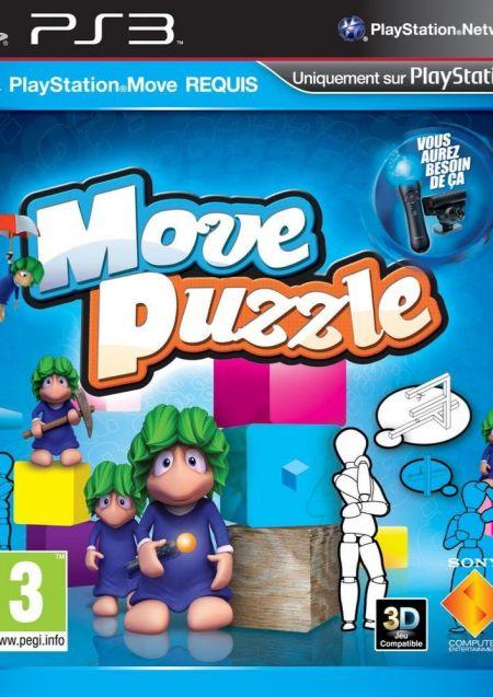Echanger le jeu Move Puzzle (PS Move Requis) sur PS3