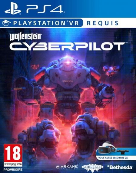 Echanger le jeu Wolfenstein Cyberpilot (PS-VR Requis) sur PS4