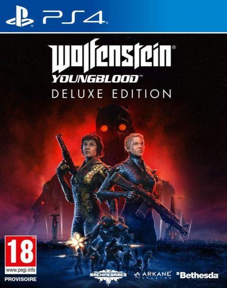 Echanger le jeu Wolfenstein Youngblood  sur PS4