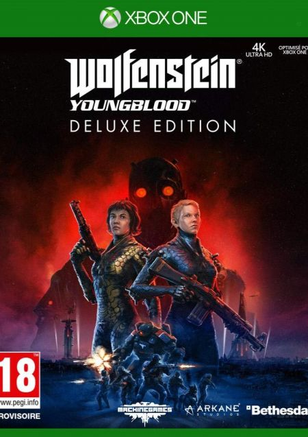 Echanger le jeu Wolfenstein Youngblood  sur Xbox One