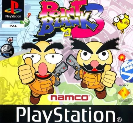 Echanger le jeu Point Blank 3 sur PS1