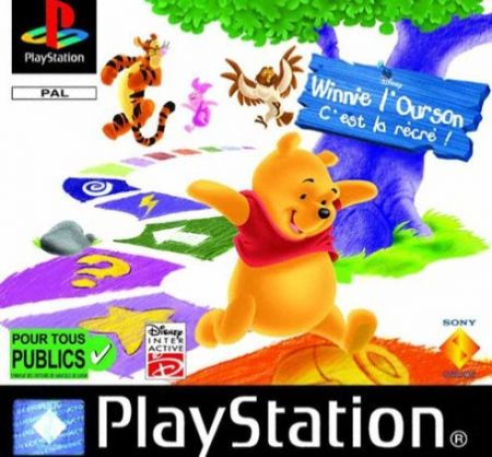 Echanger le jeu Winnie L'Ourson : C'est la recre ! sur PS1