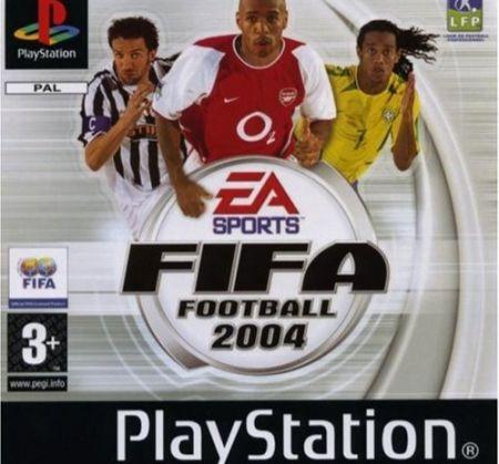 Echanger le jeu FIFA Football 2004 sur PS1