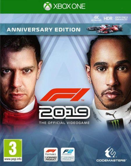 Echanger le jeu F1 2019 - Edition Anniversaire  sur Xbox One