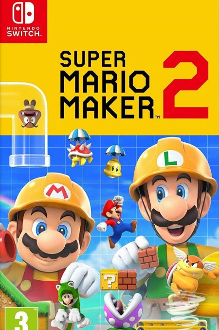 Echanger le jeu Super Mario Maker 2 sur Switch
