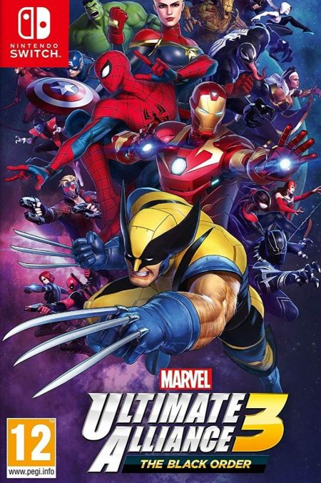 Echanger le jeu Marvel Ultimate Alliance 3 : The Black Order  sur Switch