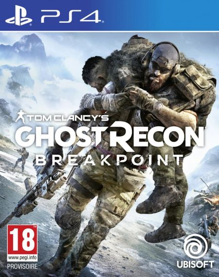 Echanger le jeu Ghost Recon Breakpoint sur PS4