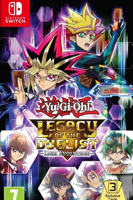 Echanger le jeu Yu-Gi-Oh! Legacy of the Duelist : Link Evolution sur Switch