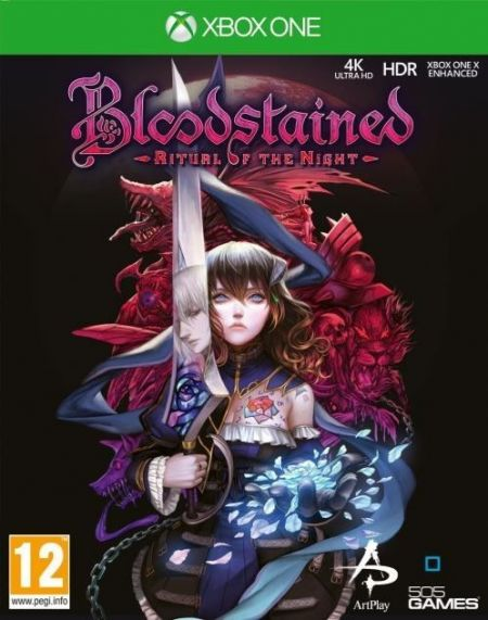 Echanger le jeu Bloodstained - Ritual Of The Night sur Xbox One