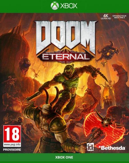 Echanger le jeu Doom Eternal sur Xbox One