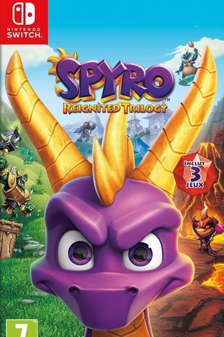 Echanger le jeu Spyro Reignited Trilogy  sur Switch