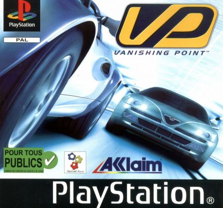 Echanger le jeu Vanishing Point sur PS1