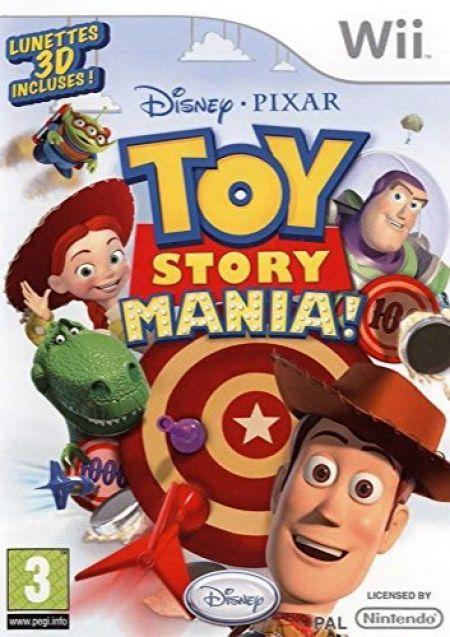 Echanger le jeu Toy Story Mania sur Wii