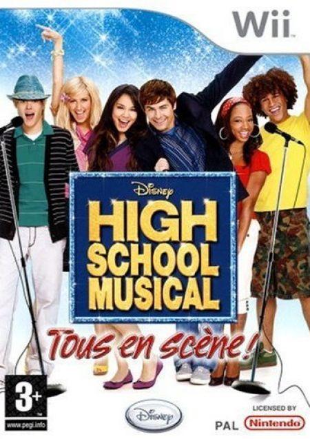 Echanger le jeu High School Musical sur Wii