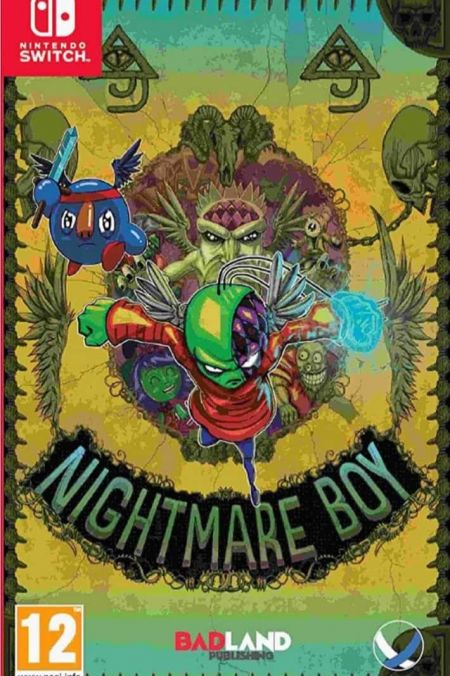Echanger le jeu Nightmare Boy sur Switch