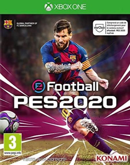 Echanger le jeu E Football - PES 2020 sur Xbox One