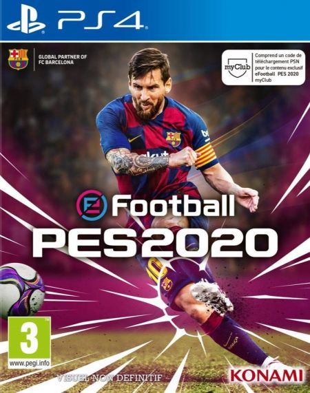 Echanger le jeu E Football - PES 2020 sur PS4