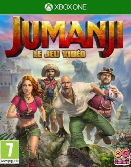 Echanger le jeu JUMANJI sur Xbox One