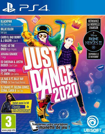 Echanger le jeu Just Dance 2020 sur PS4