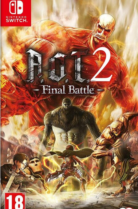 Echanger le jeu Attack On Titan 2 - Final Battle sur Switch