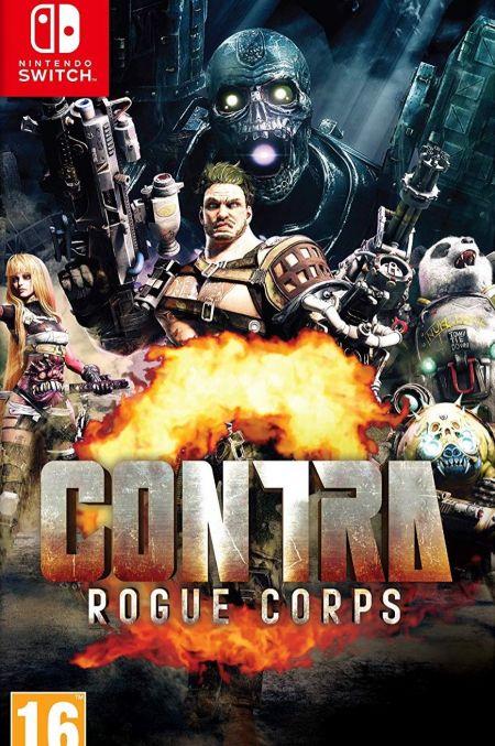 Echanger le jeu Contra Rogue Corps  sur Switch