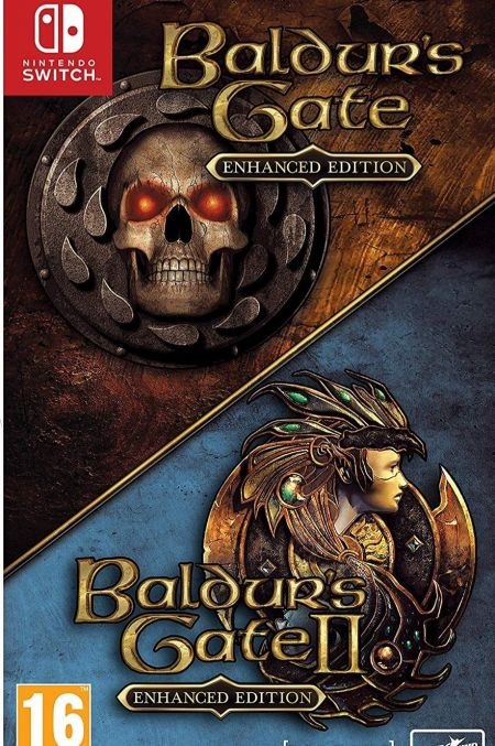 Echanger le jeu The Baldurs Gate I & II - Enhanced Edition sur Switch