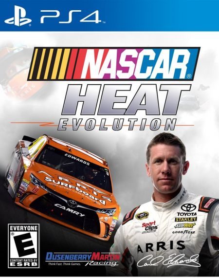 Echanger le jeu Nascar Heat Evolution  sur PS4