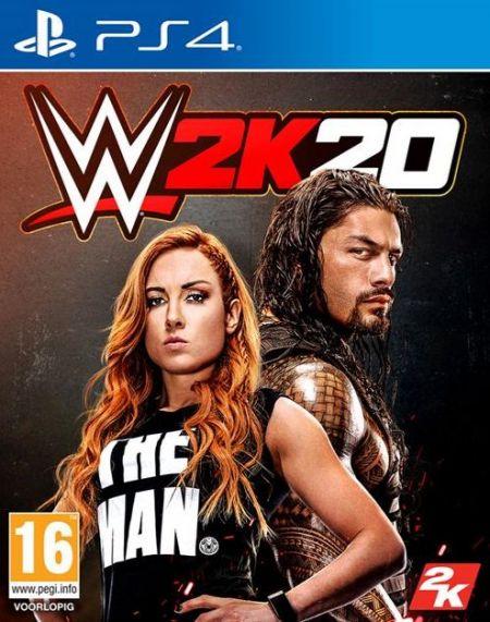 Echanger le jeu WWE 2K20  sur PS4