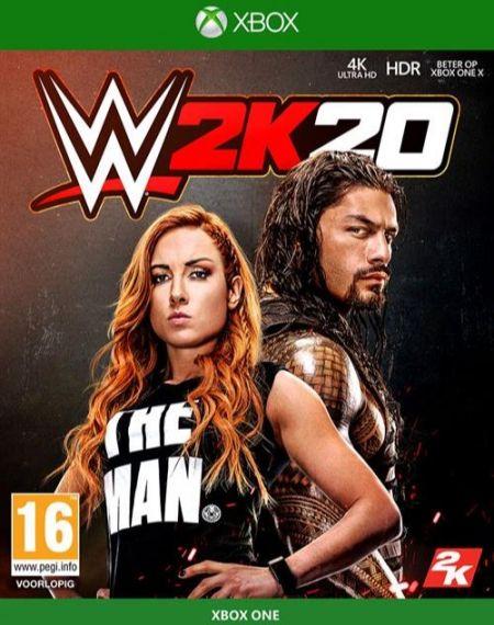 Echanger le jeu WWE 2K20  sur Xbox One