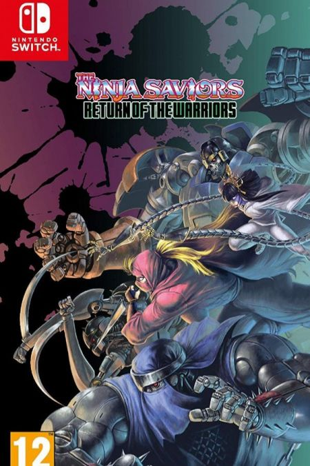 Echanger le jeu The Ninja Saviors: Return of the Warriors sur Switch