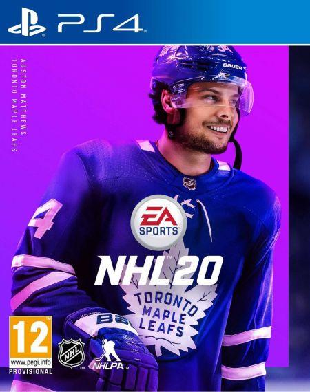 Echanger le jeu NHL 20 sur PS4