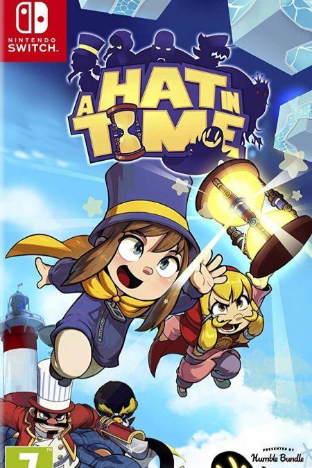 Echanger le jeu A Hat in Time sur Switch