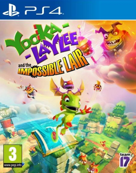 Echanger le jeu Yooka-Laylee: The Impossible Lair  sur PS4