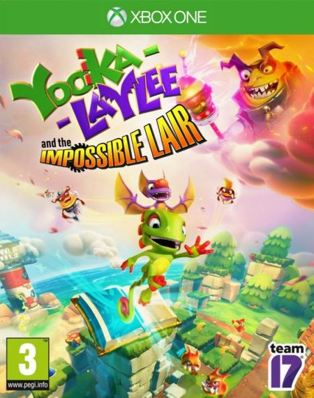 Echanger le jeu Yooka-Laylee: The Impossible Lair sur Xbox One