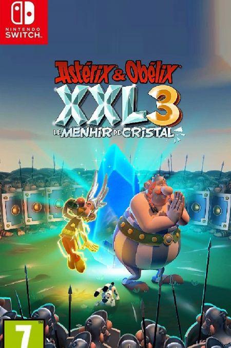 Echanger le jeu Asterix & Obelix XXL 3 : le Menhir de Cristal sur Switch