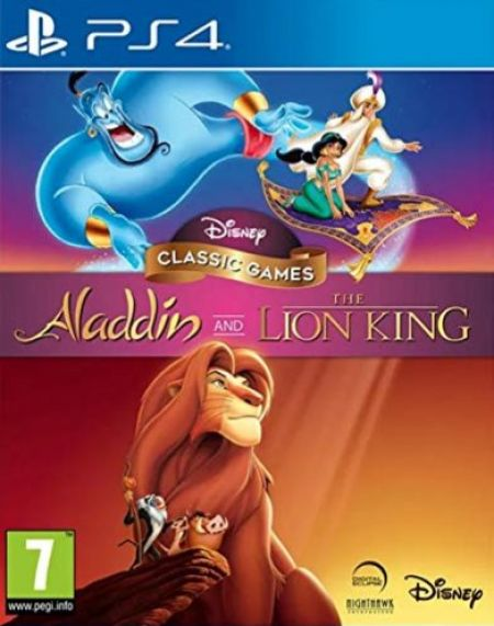 Echanger le jeu Disney Classic Games : Aladdin And The Lion King sur PS4