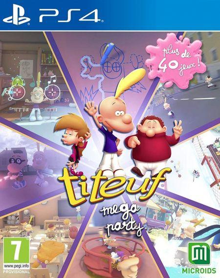 Echanger le jeu Titeuf Mega Party sur PS4