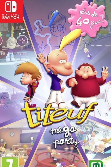 Echanger le jeu Titeuf Mega Party sur Switch